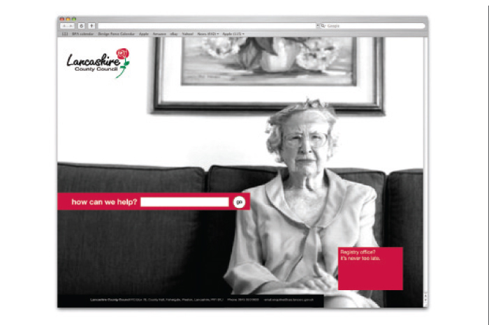 Lancashire County Council Website